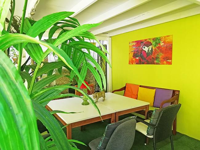 Green Garden Lounge 1 - Restaurant Bunt