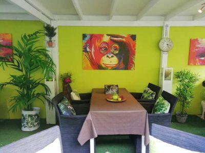 Green Garden Lounge 4 - Restaurant Bunt