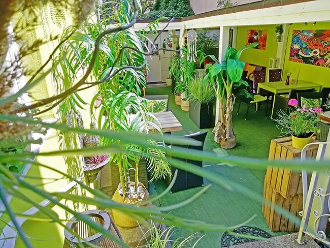 Green Garden Lounge 6 - Restaurant Bunt