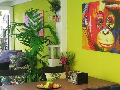 Green Garden Lounge 8 - Restaurant Bunt