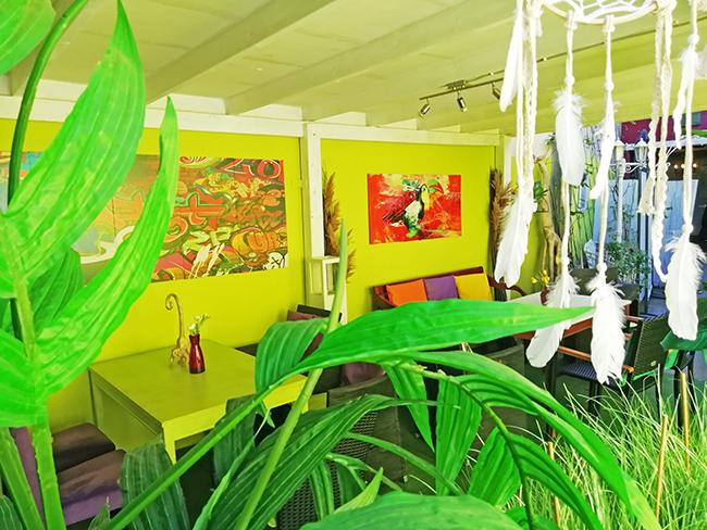 Green Garden Lounge 9 - Restaurant Bunt