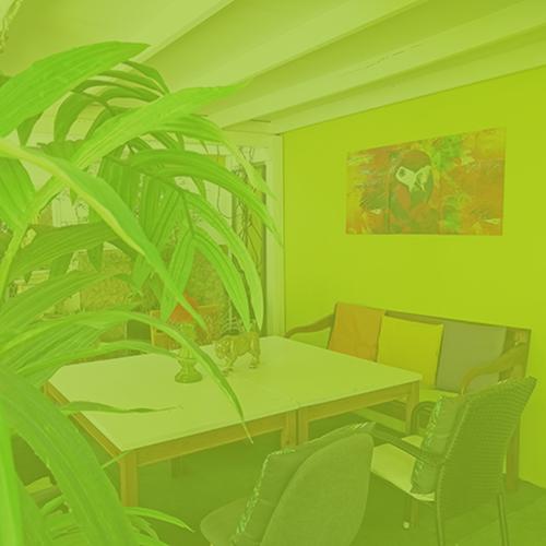 Green Garden Lounge Portfolio - Restaurant Bunt