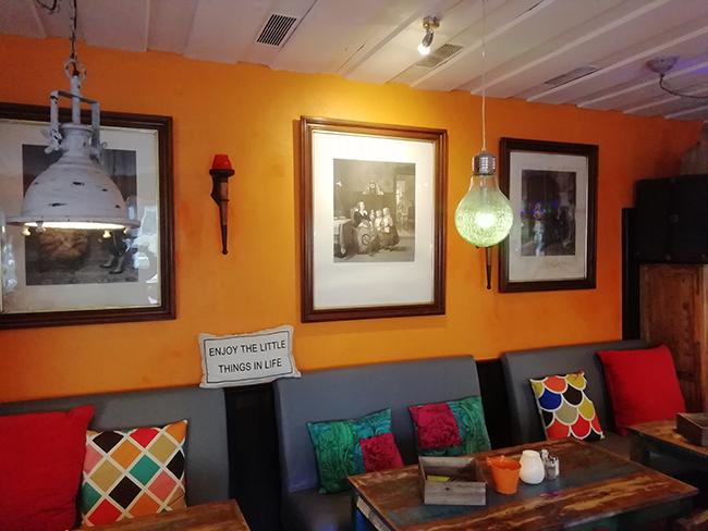Orange Lounge 10 - Restaurant Bunt Wien