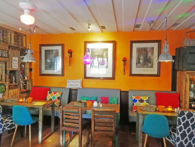 Orange Lounge 14 - Restaurant Bunt Wien