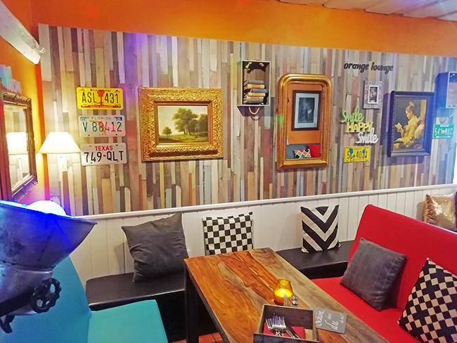 Orange Lounge 17 - Restaurant Bunt Wien