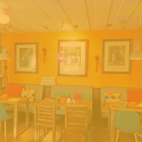 Orange Lounge Portfolio - Restaurant Bunt