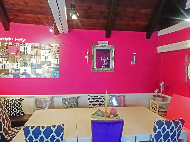 Orchidee Lounge 3 - Restaurant Bunt