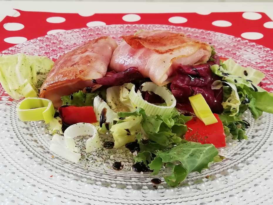 BUNT Speckmäntelchen mit Schafskäse - Restaurant Bunt Wien